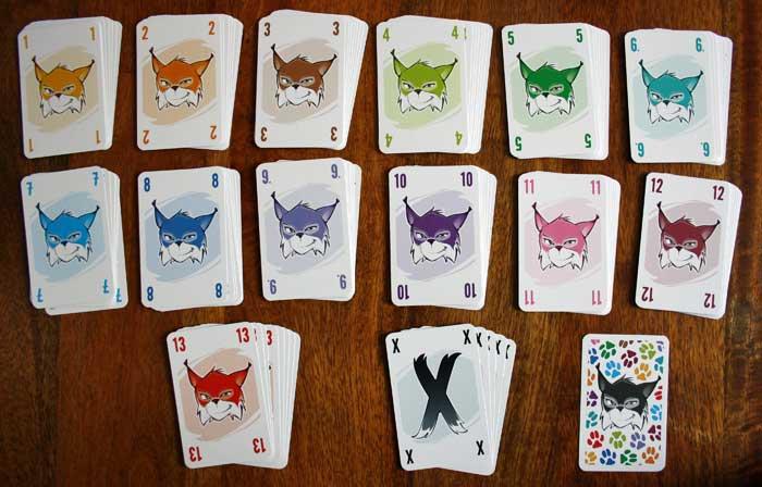 Die Spielkarten von Abluxxen.