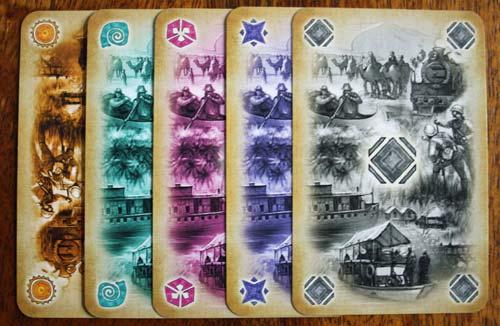 Die Reisekarten in Africana.
