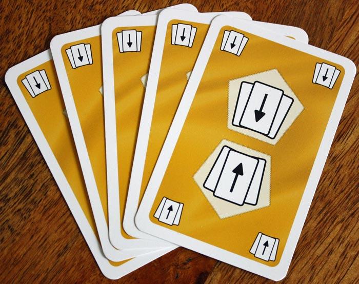 Der Kartensegen in Auruxxx® - eine Karte von jedem Spieler.