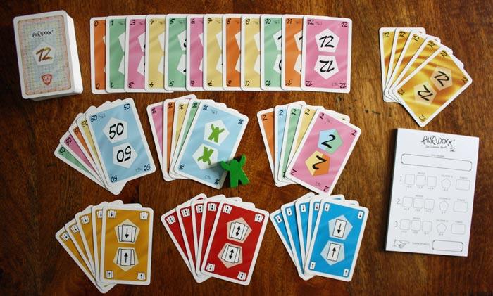 Die Spielkarten von Auruxx® auf einen Blick.