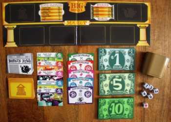 Spielzubehör zum Spiel Big Money.
