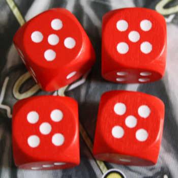 Beispiel 1: Nur die Kombination 5+5=10 ist möglich.