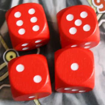 Beispiel 3: Die Kombination 1+2=3, 1+5=6 und 1+6=7, 2+5=7, 2+6=8 und 5+6=11 sind möglich.