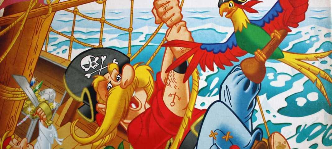 Captain Silver Kinderspiel Queen Games.