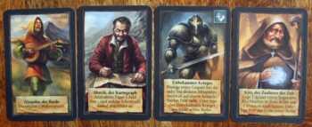 Die vier Freunde von Chada und Thorn.