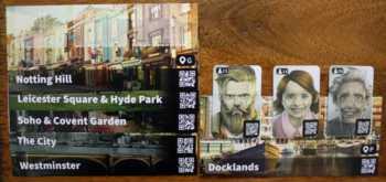 Auf der Ortstafel Docklands befinden sich 3 Personen, die befragt werden können.