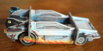 Der DeLorean von der Seite