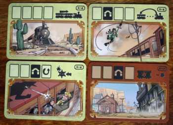 Runden- und Bahnhofskarten.