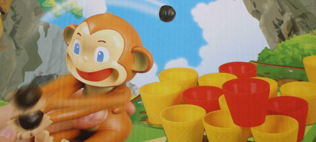 Crazy Coconuts Kinderspiel von Pegasus.