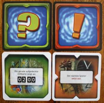 Ein Set aus zwei Karten ergibt eine neue Regel.