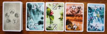 Beispiel 4: Glück gehabt, da die letzte Karte denselben Wert aufweist.