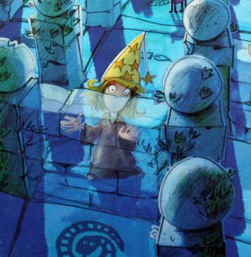 Das magische Labyrinth - Kinderspiel des Jahres von Drei Magier Spiele.
