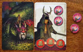 Der Wanderer hilft den Spielern.
