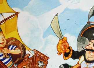 Der schwarze Pirat Kinderspiel Haba