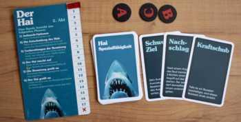 Auftauch-Chips und Sonderfähigkeiten des Hais.