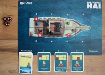 Akt 2 - Der Orca-Spielplan bei Spielbeginn
