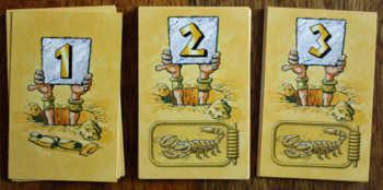 Die Suchkarten in der zerstreute Pharao.