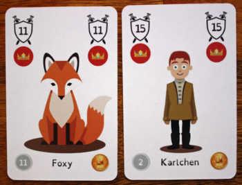 Der Fuchs und Karlchen in Doublehead-Kids.