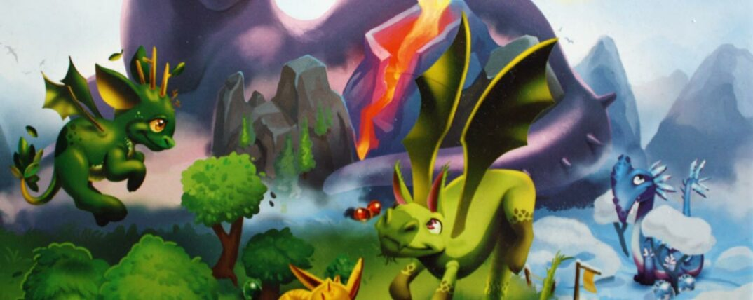 Dragomino Kinderspiel von Pegasus.