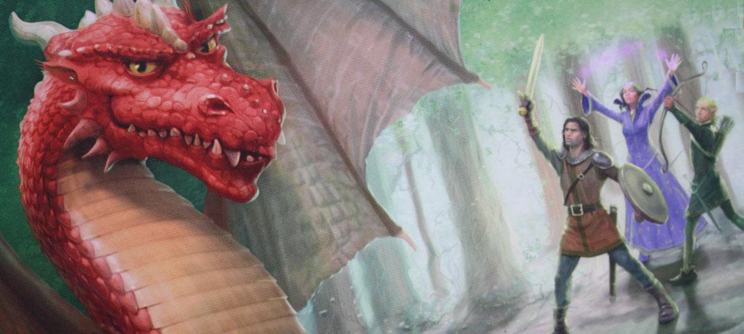 Dragonwood Familienspiel von Games Factory.