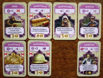 Die Sonderkarten in El Dorado - Die goldenen Tempel.