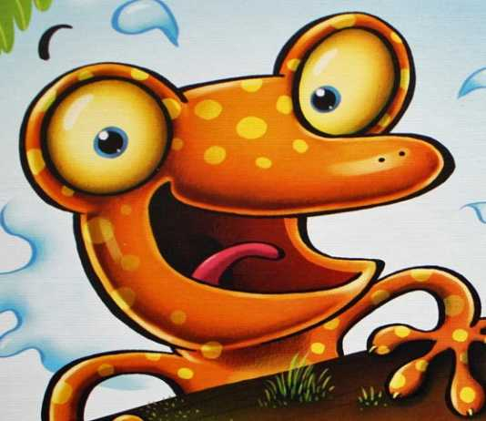 Go Gecko Go Kinderspiel von Zoch.