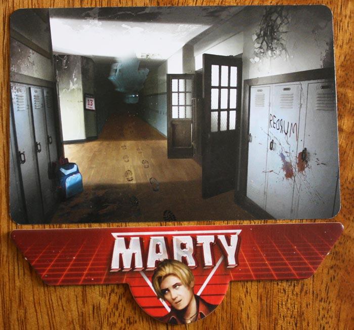 Martys Erzählung beginnt in der Schule.