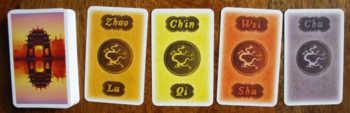 Der Kartentausch: Entweder aus der Auslage oder verdeckt vom Nachziehstapel.