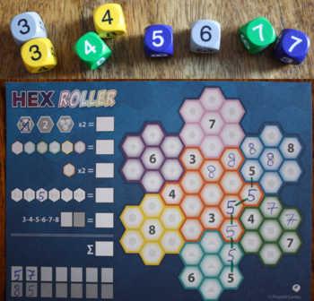 Beispiel 1 zu Hex Roller.