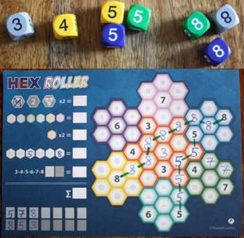 Beispiel 2 zu Hex Roller.