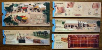 Die B-Seiten. Spielvarianten von Imhotep.