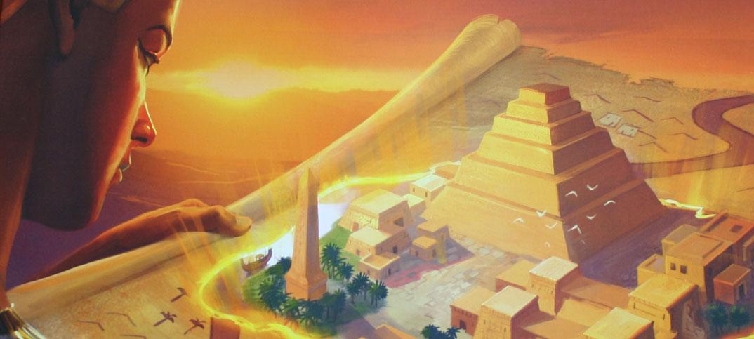 Imhotep Brettspiel von Kosmos.