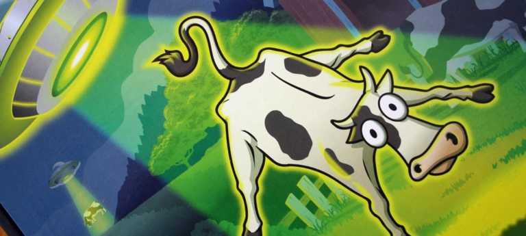 Invasion of the Cow Snatchers Logikspiel von Thinkfun.