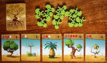 Die Bäume und die zugehörigen Baumkarten.