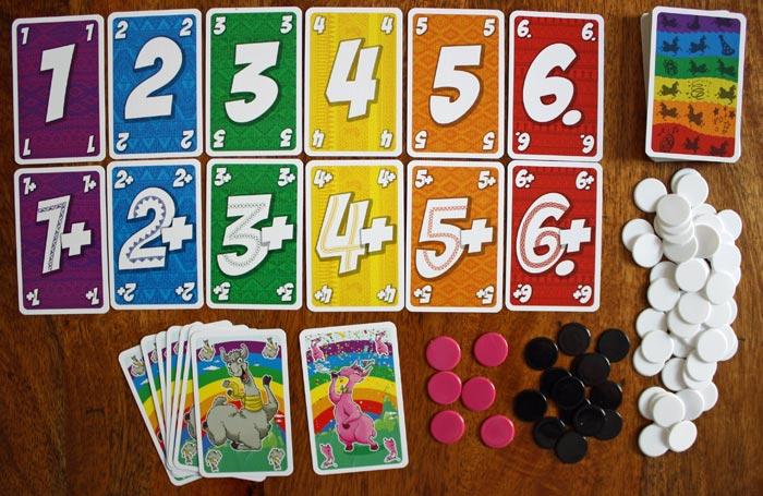 Spielzubehör der L.A.M.A. Party Edition