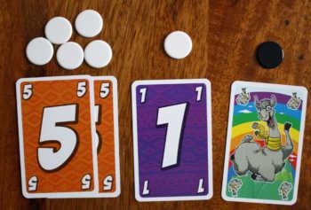 Jeder Kartenwert bringt einmal Minuspunkte.