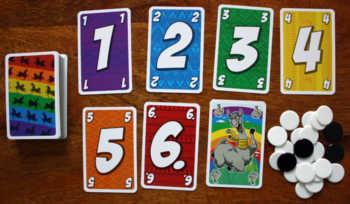 Spielzubehör zum Kartenspiel L.A.M.A.