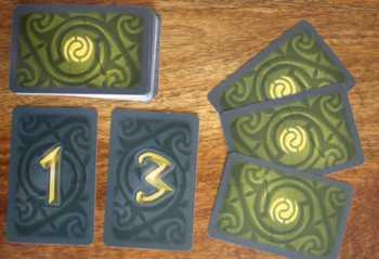 Eine oder drei Karten nachziehen