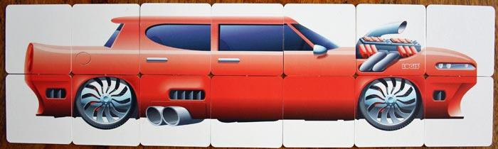 MaCar Beispiel im 2x7 Raster.