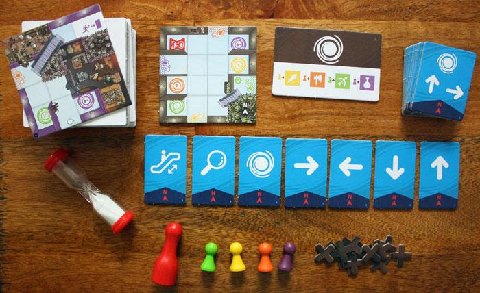 Magic Maze (Pegasus): Spielregeln, Bilder und Infos zum Spiel