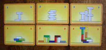 Beispiele für Augabenkarten.
