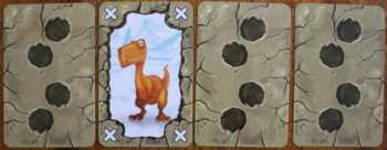 Einen Dinosaurier finden.