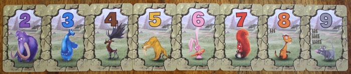 Die acht Übersichtskarten in Mammuz