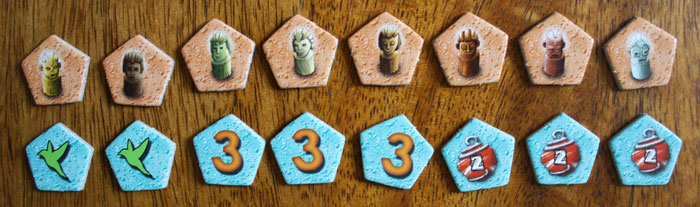 Mangrovia-Brettspiel-Spielvariante