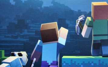 Minecraft Builder & Biomes Brettspiel von Ravensburger.