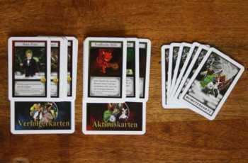 Spielkarten von Monster-Schreck.