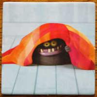 Monster unter der Decke.