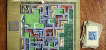 Passen - Der Spieler legt das Bauteil weg und verliert einen Punkt.
