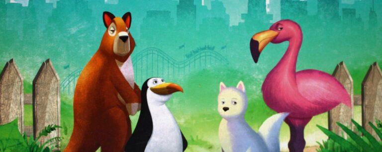 New York Zoo Brettspiel von Feuerland / Uwe Rosenberg.