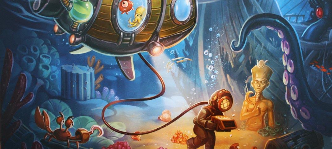 Oceanos Brettspiel Review